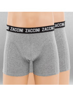Zaccini Boxer Short Uni 2-Pack grey