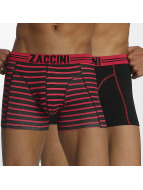 Zaccini Boxer Short Stripe 2-Pack red