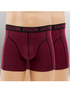 Zaccini Boxers Uni 2-Pack rouge