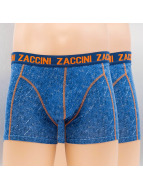 Zaccini Boxershorts Jeans Look blau