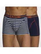 Zaccini Boxershorts Stripe 2-Pack blau