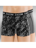 Zaccini Boxershorts Mineral 2-Pack grau