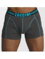 Zaccini boxershorts Uni 2-Pack grijs