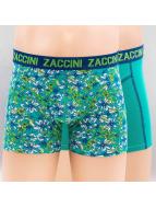 Zaccini Boxershorts Flower Garden 2-Pack grün