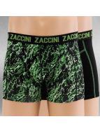 Zaccini Boxershorts Mineral 2-Pack grün