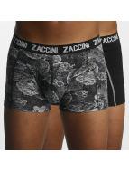 Zaccini boxershorts Winter Flower zwart