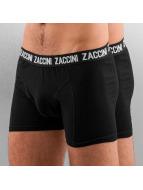 Zaccini boxershorts Uni 2-Pack zwart