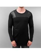 ZUMO T-Shirt manches longues Casimero noir